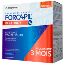 Forcapil Keratin Kapszula- hajerősítő kapszula keratinnal 180db