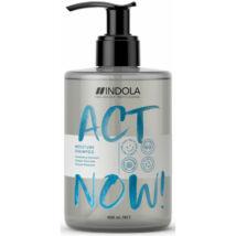INDOLA Act Now Moisture Hidratáló Sampon 300ml