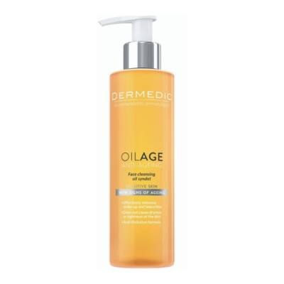Dermedic OILAGE Arctisztító az idősödő bőr ápolására. Ráncok és idősödés kezelésére.