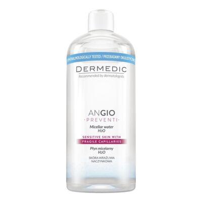 Dermedic Angio Micellás víz H²O- Rosaceás, kipirosodásra hajlamos bőr tisztítására, termálvízzel