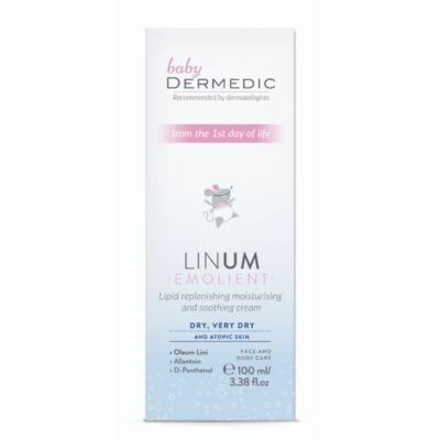 Linum Emolient Baby Lipidpótló hidratáló és nyugtató krém