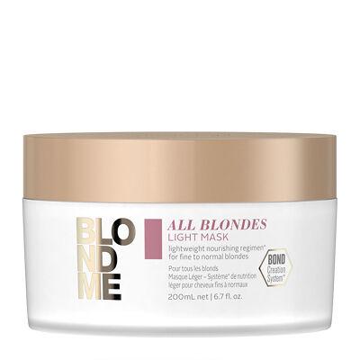 BlondMe All Blondes LIGHT pakolás 200ml vékonyszálú szőke hajra