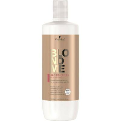 BlondMe Mindenszőke RICH sampon normál és vastagszálú szőke hajra 1000 ml