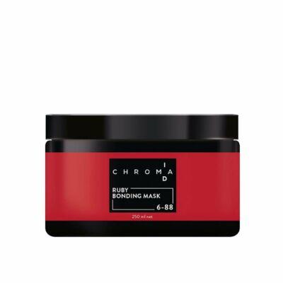 Chroma ID Kötéserősítő Hajszínező Maszk  (6-88 árnyalat) RUBIN SZÍN - 250 ml