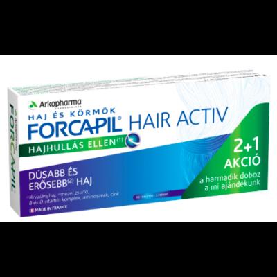 Forcapil Hair Activ - 90 db hajhullás elleni kapszula 3 hónapra