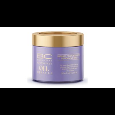 BC Bonacure Oil Miracle Barbary Fig pakolás, haj maszk 150 ml