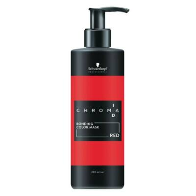 Schwarzkopf Chroma Id hajszerkezet építő pakolás PIROS 280 ml
