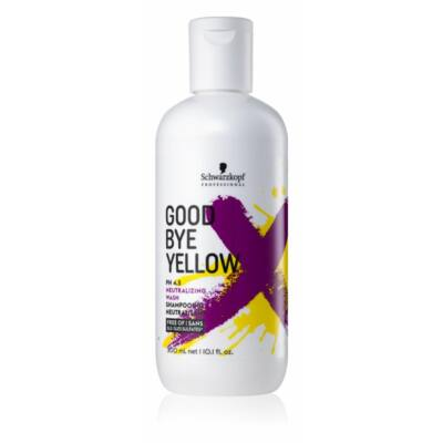 Schwarzkopf Professional GoodBye Yellow Sampon 300ml