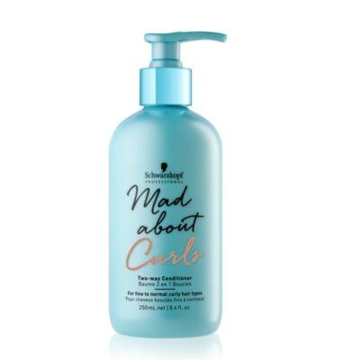 Schwarzkopf Mad About Curls Two-way Kondicionáló balzsam 250 ml- Göndör haj termék
