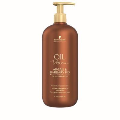 Schwarzkopf Oil Ultime Argan & Barbary Fig Sampon száraz és durva hajra 1000ml