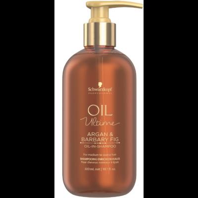 Schwarzkopf Oil Ultime Argan & Barbary Fig Sampon száraz és durva hajra 300ml