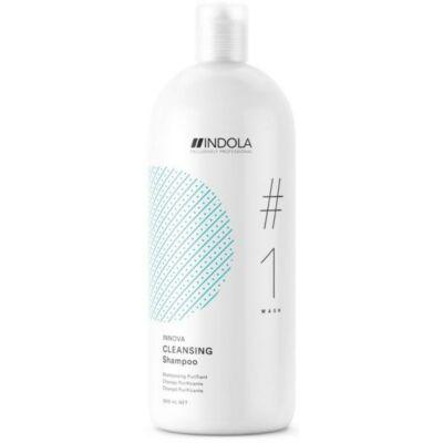 INDOLA Cleansing Shampoo - Mélytisztító sampon 1500ml